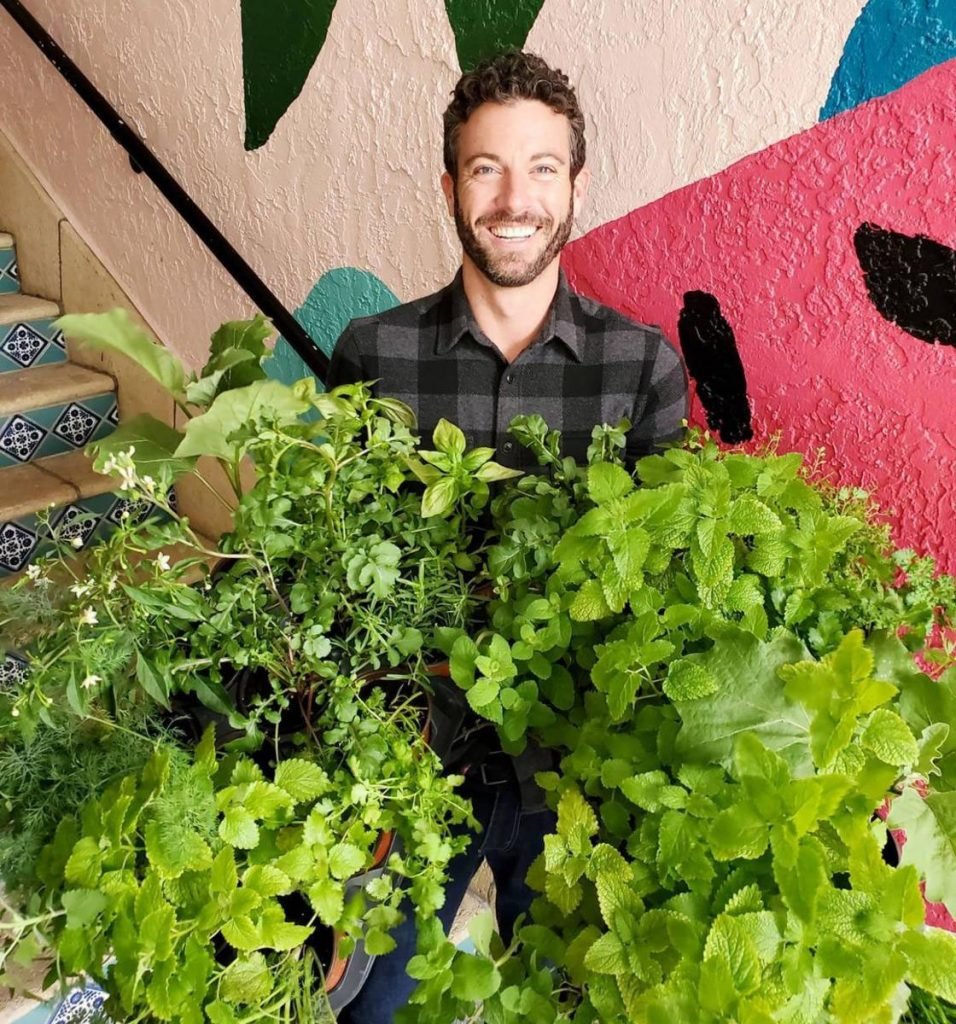 Master gardener Mike Kane will oversee the Earth Day gardening event at Rosemary Square.