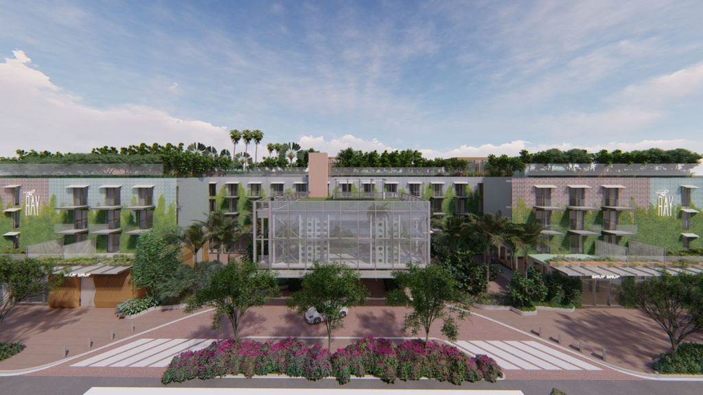 Rendering of The Ray, which is set to open in Delray Beach this summer.