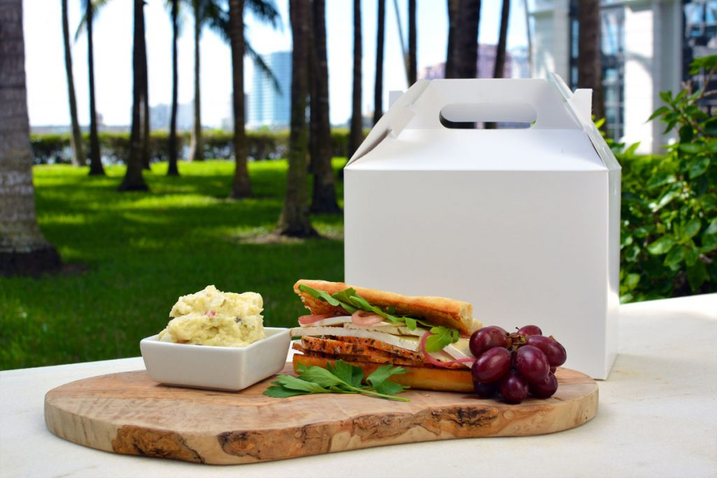 Whitehall Turkey Sandwich, PICNIC by Cafe des Beaux-Arts, Photo by Flagler Museum