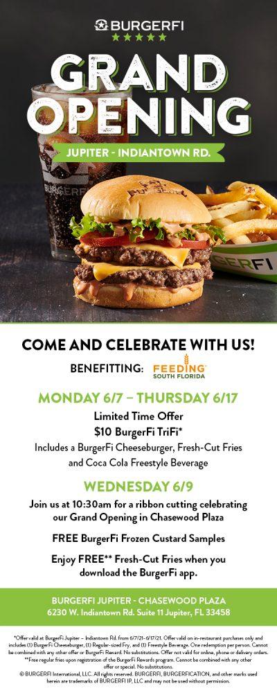 BurgerFi Indiantown Grand Opening