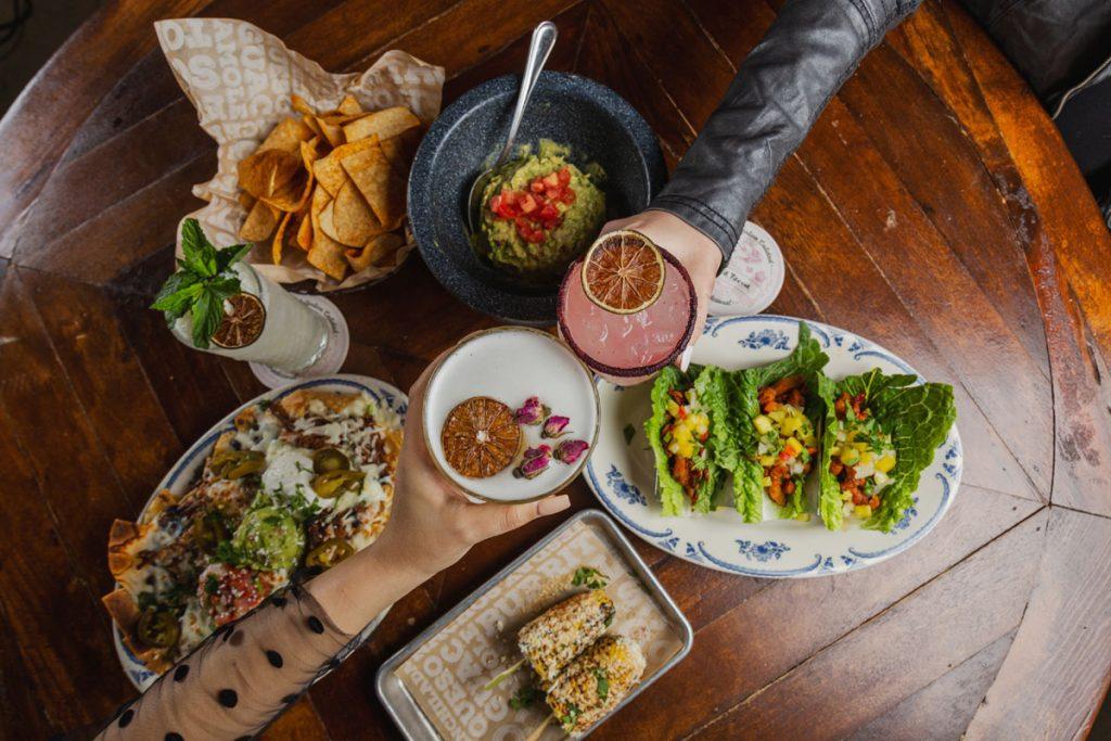 Cinco de Mayo spread at Rocco's Tacos