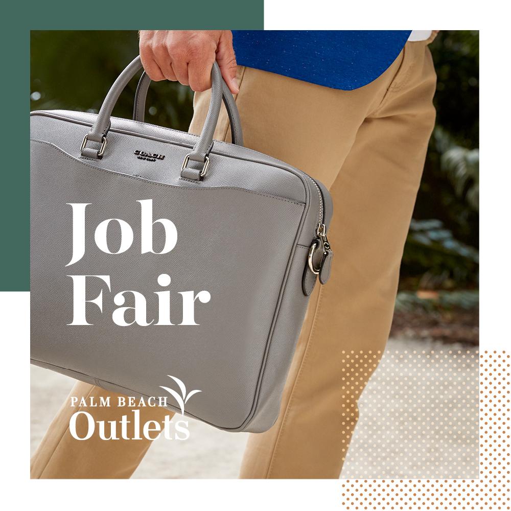 Palm Beach Outlets Hosts Job Fair