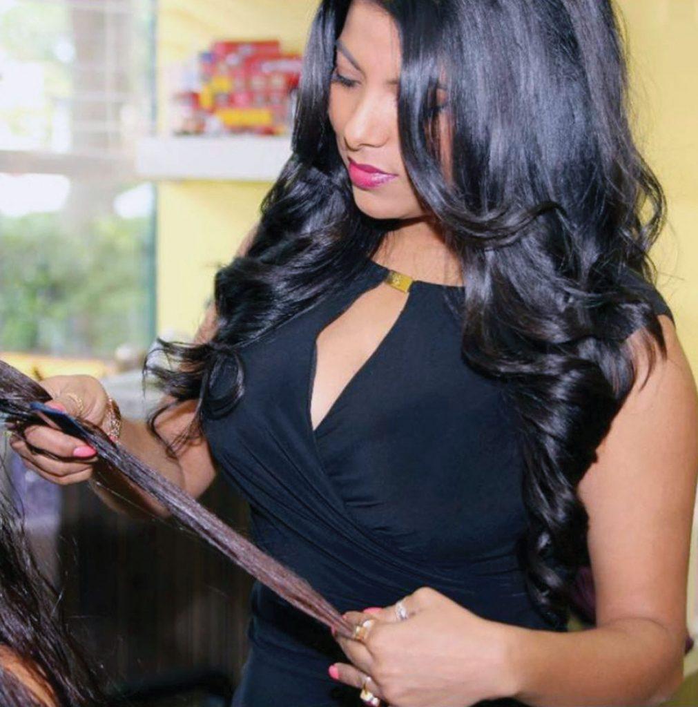 Sima Khondekar, owner of Naturally Sima Salon in Boca Raton