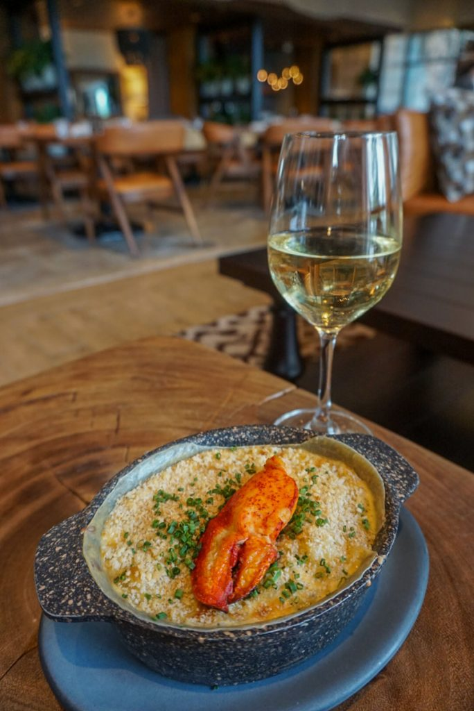 Truffle lobster mac & cheese at Proper Grit