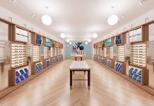 Warby Parker store debuts at the Gardens Mall in Palm Beach Gardens, photo courtesy of Warby Parker