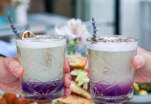 Young Lavender cocktail at Sassafras. Photo courtesy of Sassafras