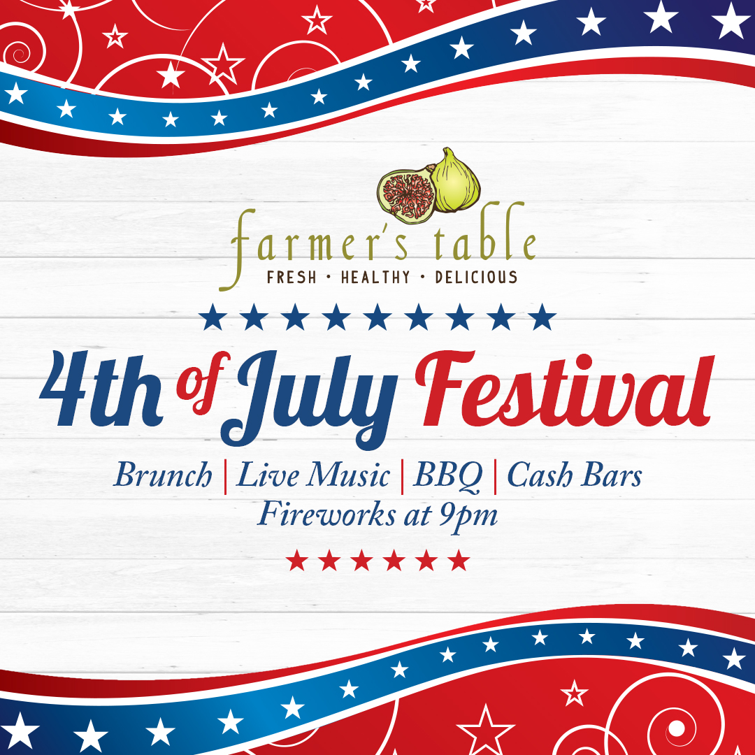 4th of July Festival at Farmer's Table North
