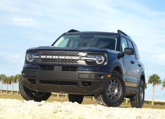 2021 Ford Bronco Sport front 1