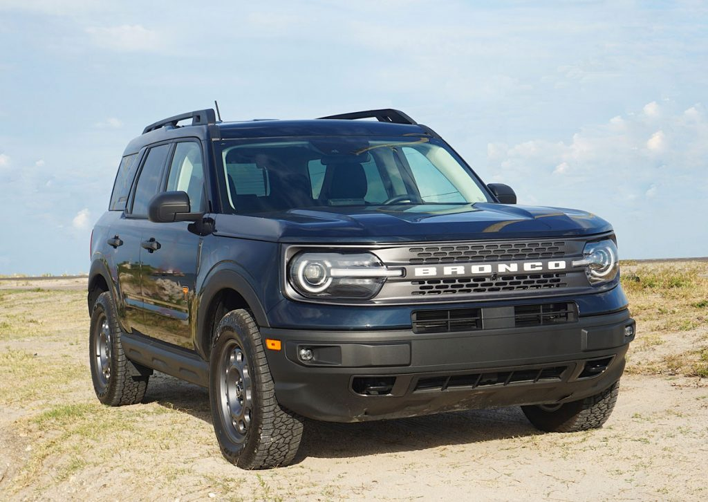 2021 Ford Bronco Sport front