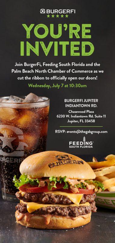 BurgerFi Jupiter Grand Opening