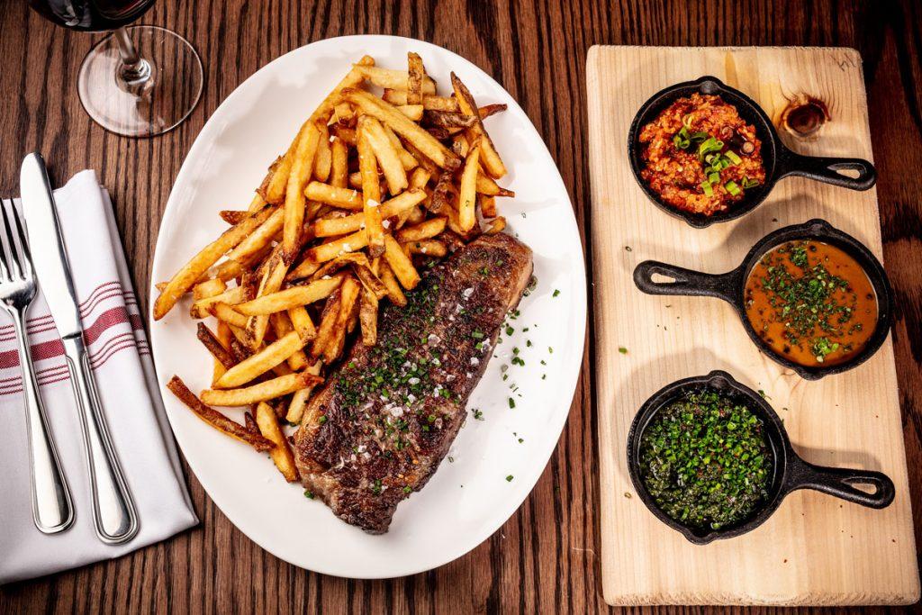 Almond Palm Beach Father's Day Steak