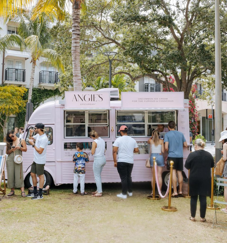 Angie's Epicurean Pop Up, image courtesy of Rosemary Square