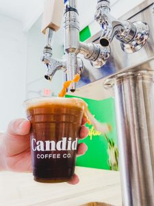 Candid Coffee pour, image courtesy of Candid Coffee