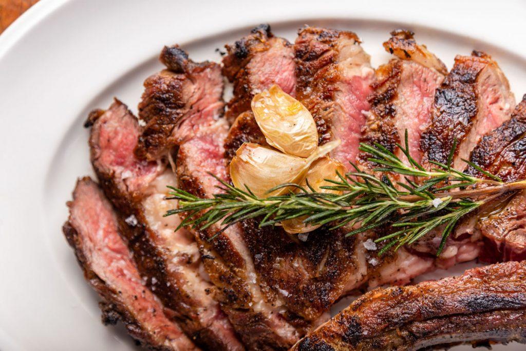 Elisabetta's Father's Day steak