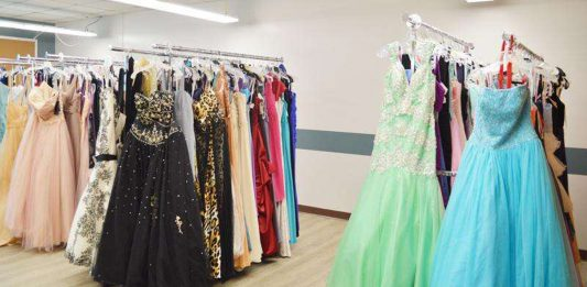 Lighthouse for the Blind formal attire drive, Pop UpScale boutique