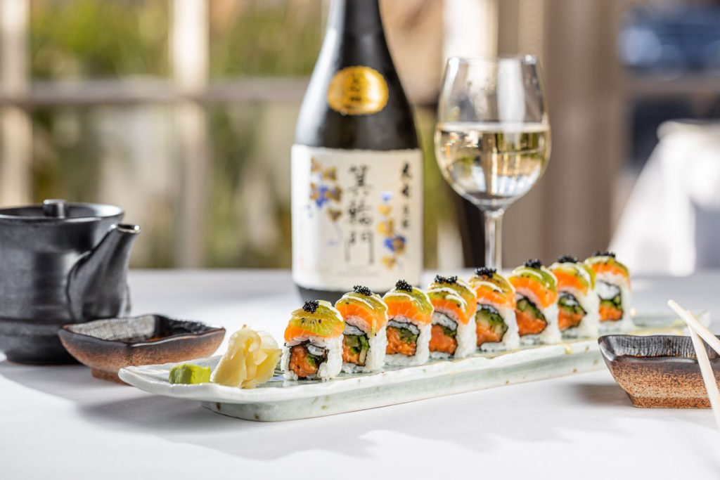Lola 41 sushi. Photo by Ovi Mustea.