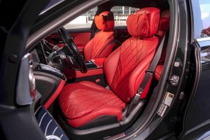 2021 Mercedes-Benz S-Class sedan front seats