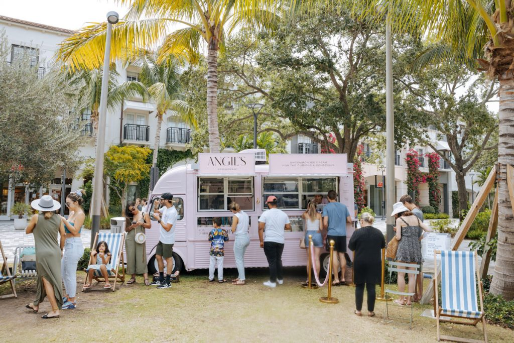 Angie's Epicurean, a plant-based ice cream truck. Photo courtesy of Angie's Epicurean