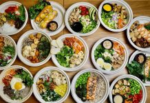 Assortment of bowls at Eat District. Photo courtesy of Eat District.