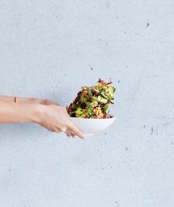 Chopped Salad at SAM Bistro