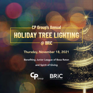 CP Group's Annual Holiday Tree Lighting