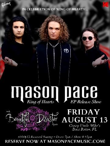 """The Mason Pace """"King of Hearts"""""""