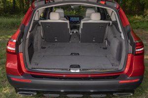 2021 Merc E450 4Matic All-Terrain trunk space