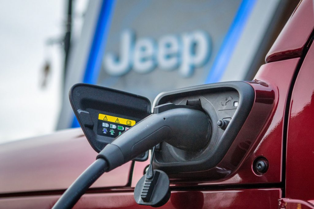 The Jeep® brand is creating the Jeep 4xe Charging Network, installing Jeep-branded EV charging stations at or near the trailheads of Jeep Badge of Honor off-road trails over the next year. The trailhead chargers coincide with the launch of 2021 Jeep Wrangler 4xe plug-in hybrid — the most technically advanced and eco-friendly Wrangler yet — and will support future electrified Jeep vehicles.