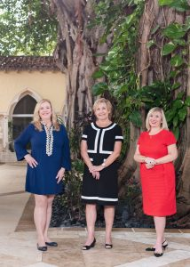 Honorary co-chairs Betsy Eisenberg, Anne Vegso, and Marina MorbeckWarnerProkosPhotography