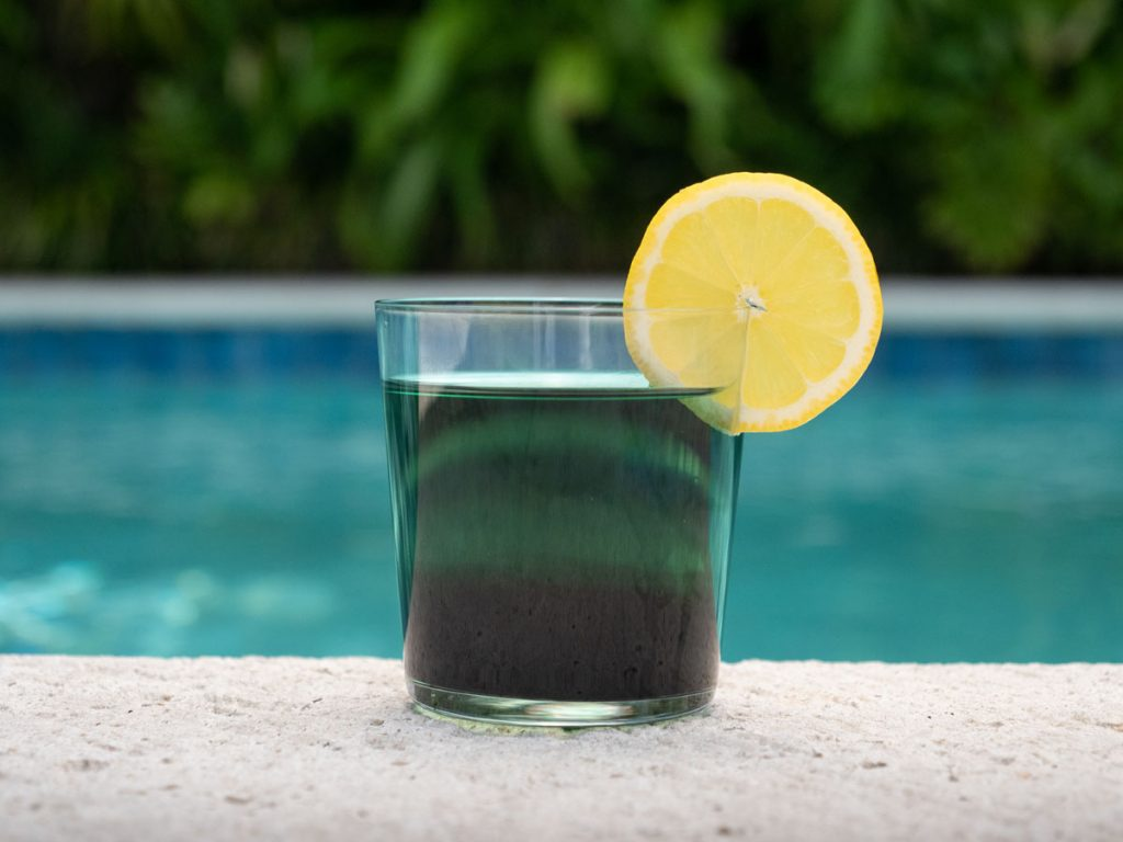 Ivey's Chlorophyll Lemonade, photo by Kent Anderson