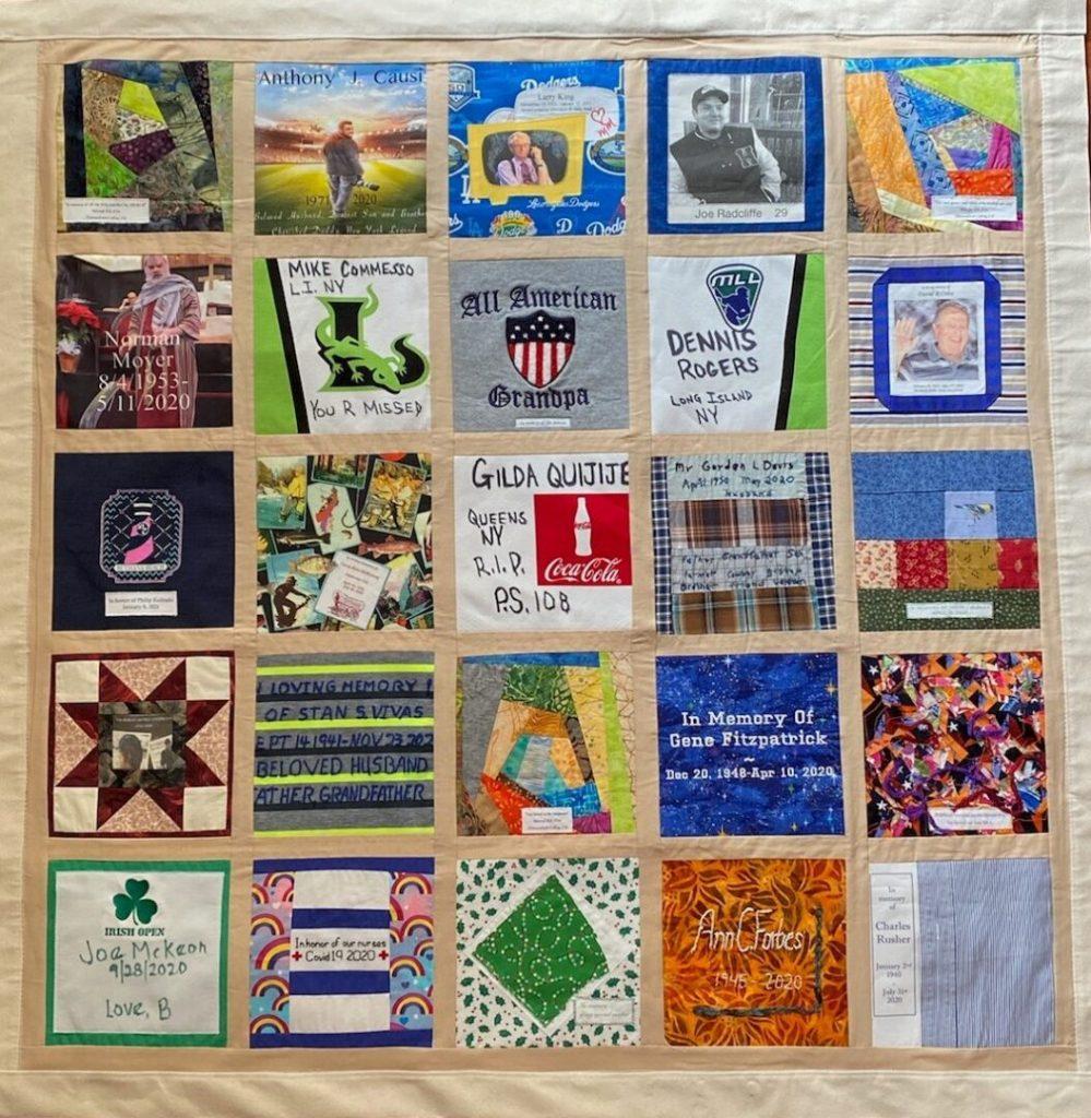Covid Memorial Quilt Exhibition