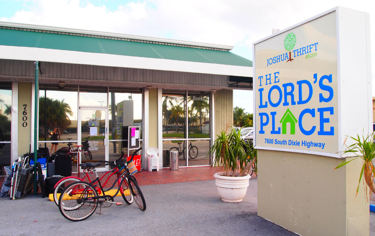 The Lord's Place Joshua Thrift Store, Dixie Highway, reopened August 9