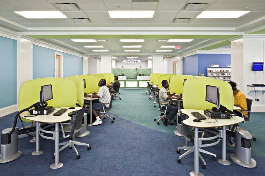 Mandel Public Library in West Palm Beach 2nd Floor
