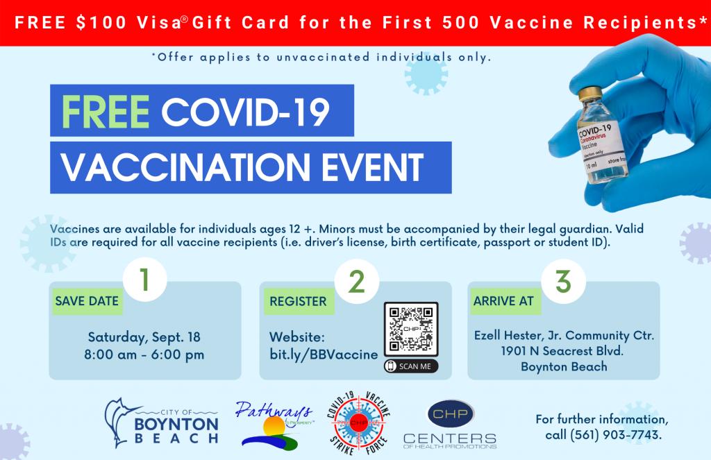 FREE COVID-19 VACCINATION EVENT