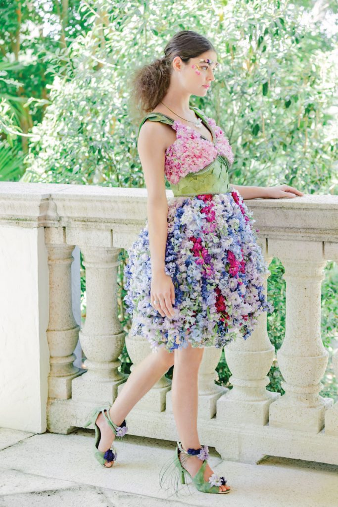 Renny & Reed, Palm Beach gown worn by Lauren Layne Merck, photo and styling by Chris Joriann 4