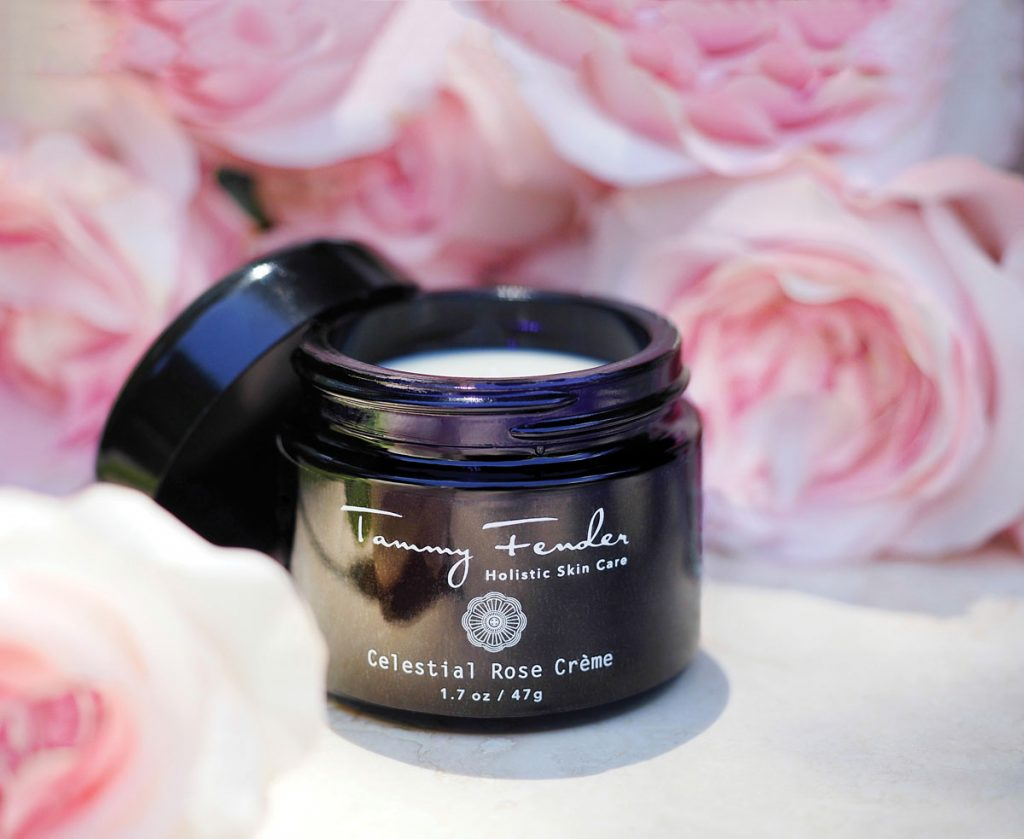 Tammy Fender's knowledge of the healing power of plants is evident in her eponymous skin care line, which is available online, in-store at Neiman Marcus and Bluemercury, and in her West Palm Beach spa.