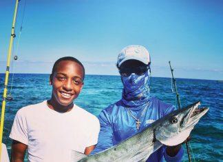 The Responsible Angling Education Program field trip to the Bahamas included deep-sea fishing in Bimini. Photo courtesy of Marine Education Initiative